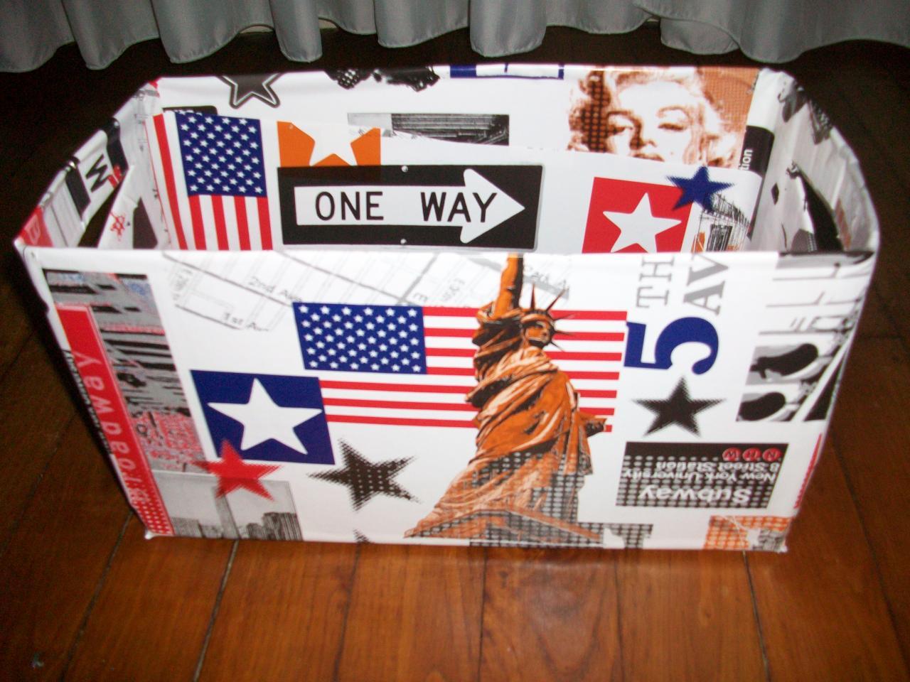 Recyclage - Customiser boite carton ...